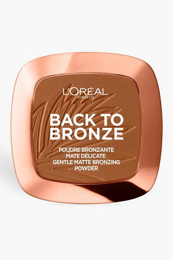 Poudre mate L'Oreal Paris Back To Bronze, Femme