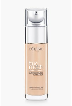 Womens L'Oreal Paris True Match Foundation-Beige