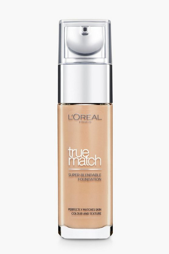 Womens Toffee L'Oreal Paris True Match Foundation- Golden Toffee