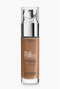 Womens L'Oreal Paris True Match Foundation -Nut Brown
