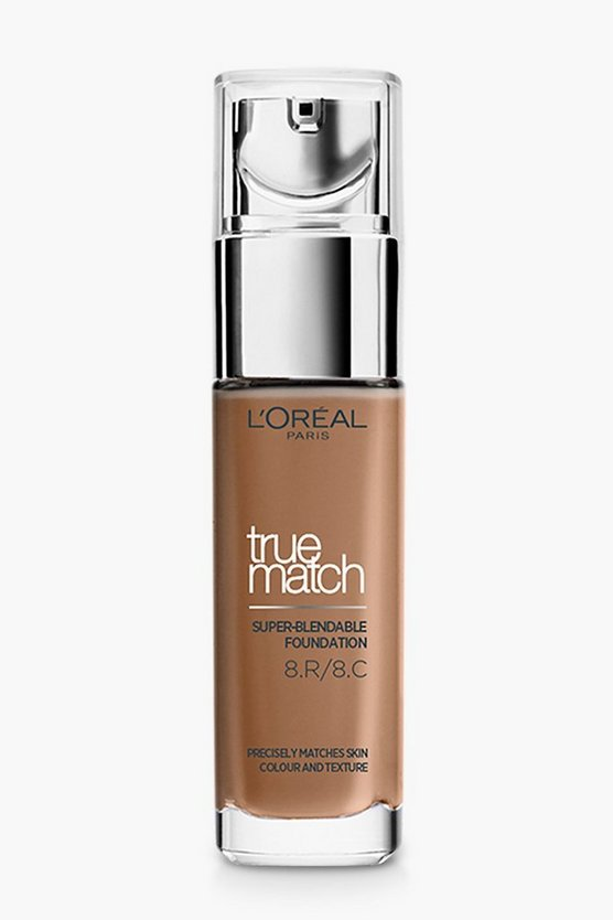 Base de Maquillaje True Match de L'Oreal Paris - Nuez Marrón, Marrón, Mujer
