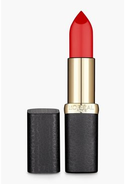 L'Oreal Paris Colour Riche Matte Rossetto - 347, Rosso, Femmina