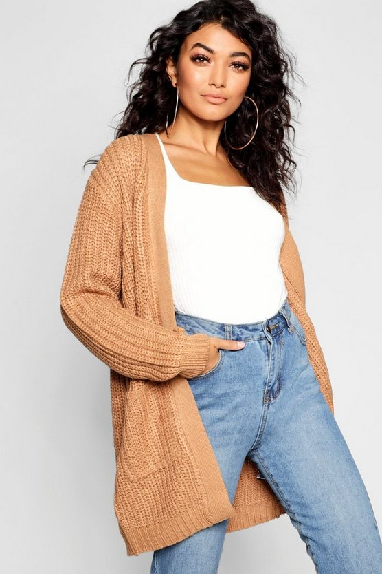 Chunky Pocket Cardigan