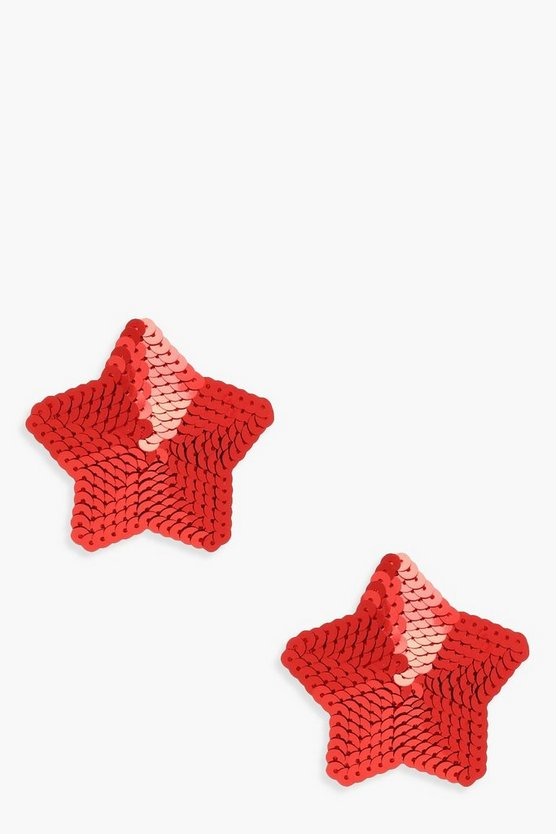 Christmas Sequin Star Nipple Covers