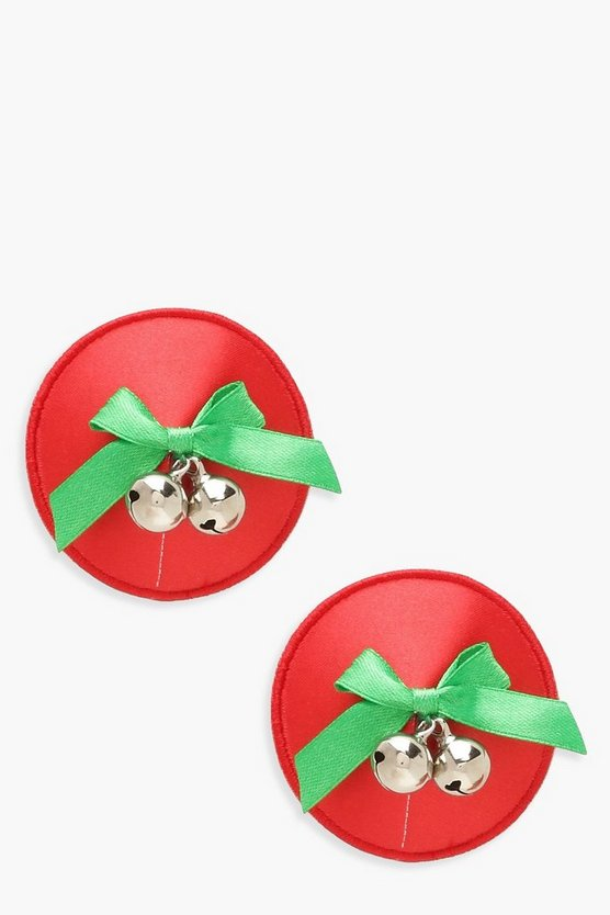 Christmas Bell Nipple Covers