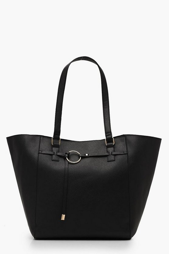Ring Detail Tote