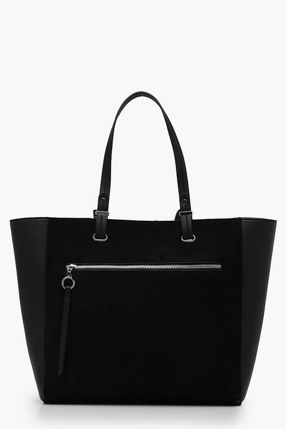 Ring Pull Zip Tote