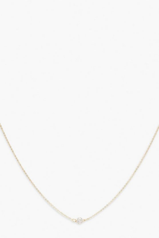 Simple Gem Chain Choker