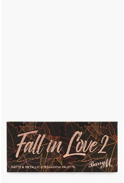 Womens Brown Barry M Fall In Love 2 Eyeshadow Palette