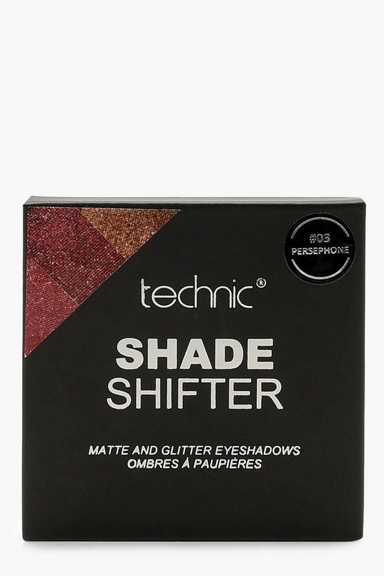 Womens Red Shade Shifter #3 Persephone Eyeshadow Palette