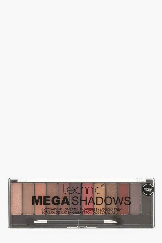 Womens Brown Technic Mega Shadows Eyeshadow Palette