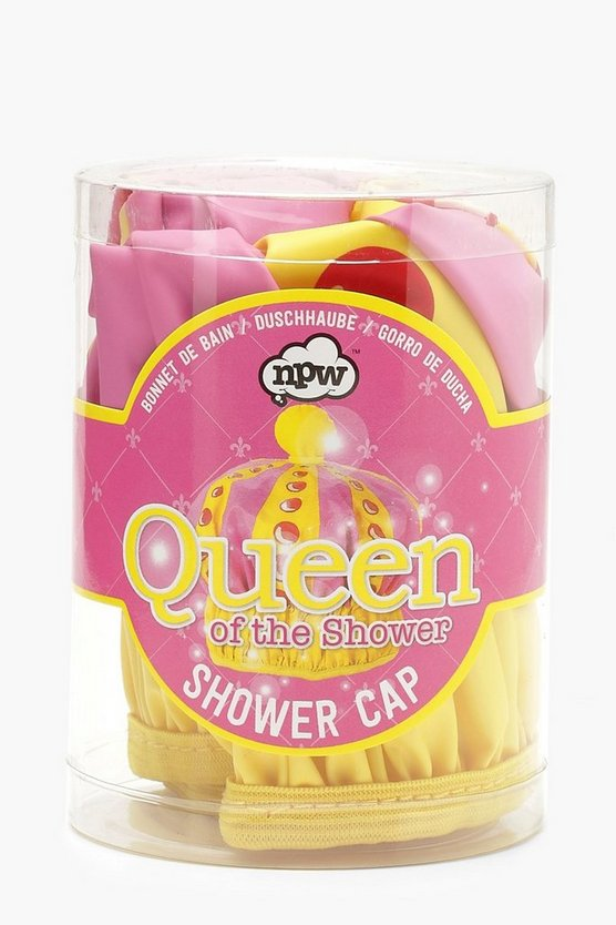 Gorro Queen Of The Shower, Multicolor, Mujer