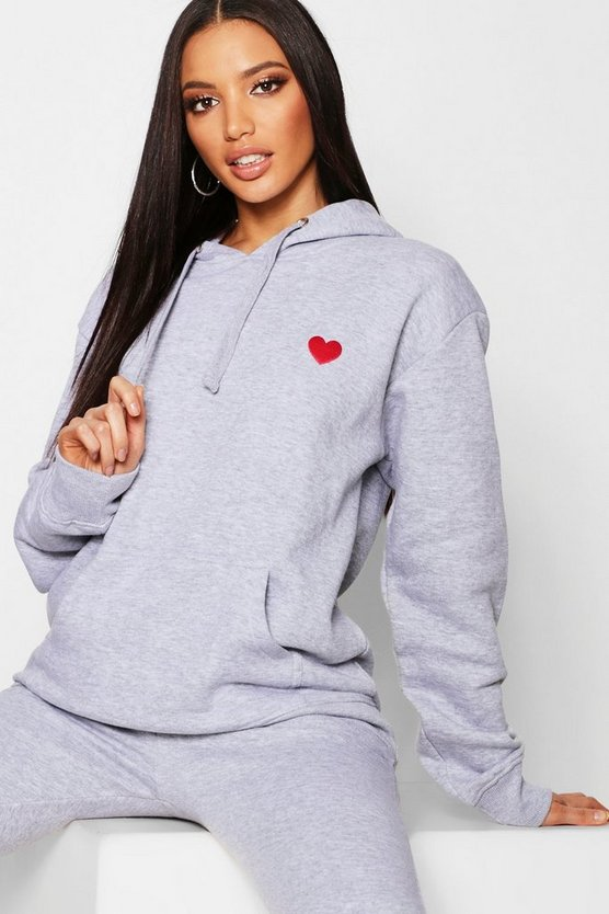 Embroidered Oversized Hoody
