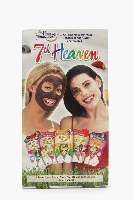 Womens Multi 5 Pack Multipack Face Masks