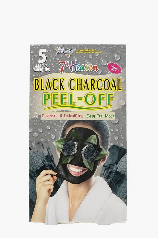5 Pack Charcoal Peel Off Face Mask