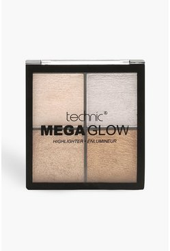 Technic Mega Glow Highlight Palette, Bronze, Damen