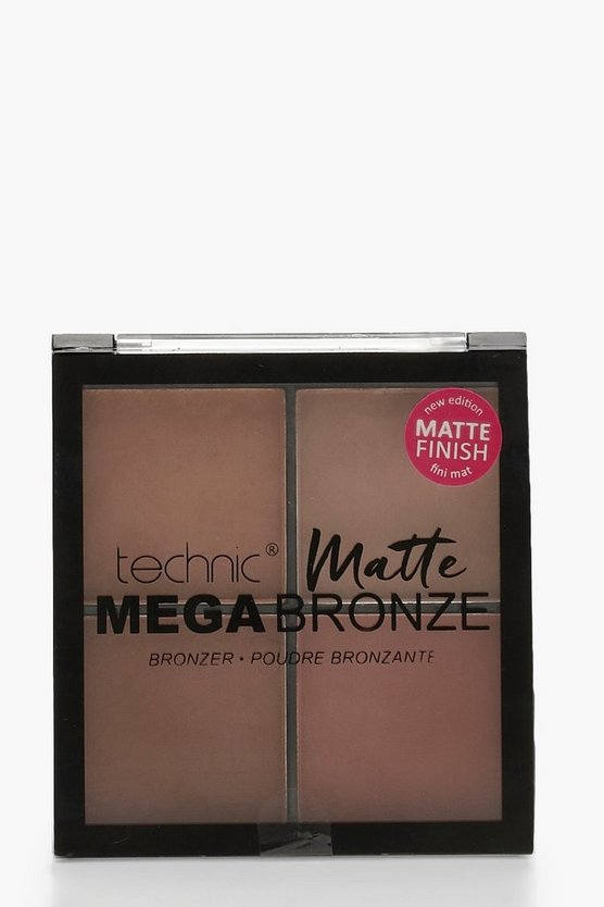 Womens Bronze Technic Mega Glow Highlighter Face Palette
