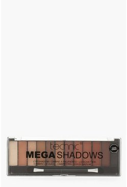 Womens Technic 8 Shade Toffee Eyeshadow Palette