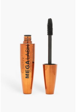 Mascara Mega per ciglia Technic all'olio di Argan, Nero