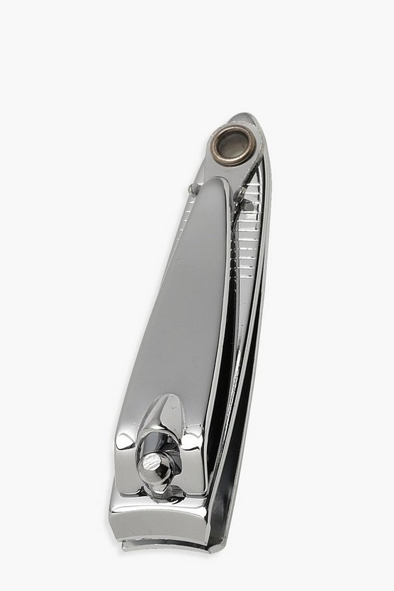 Womens Silver Elegant Touch Nail Clippers