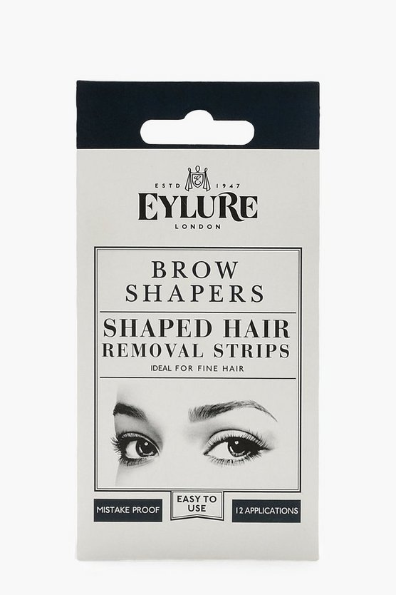 Womens White Eylure Brow Shapers