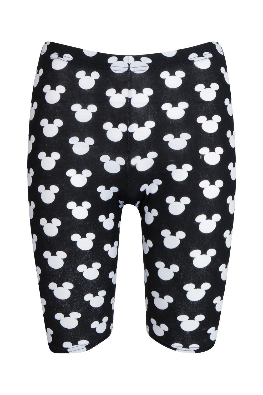 black Repeat Disney Short Cycling Mickey qIq4wZ5T