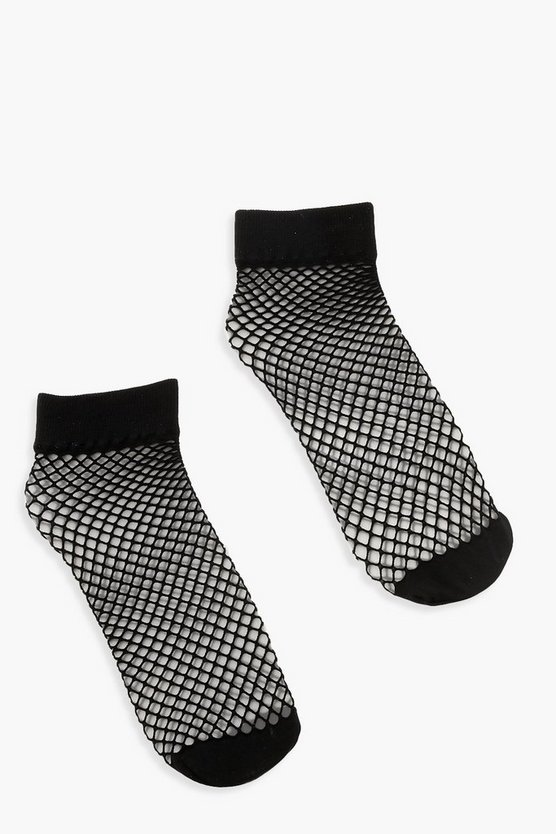 Small Scale Fishnet Socks 2 Pack