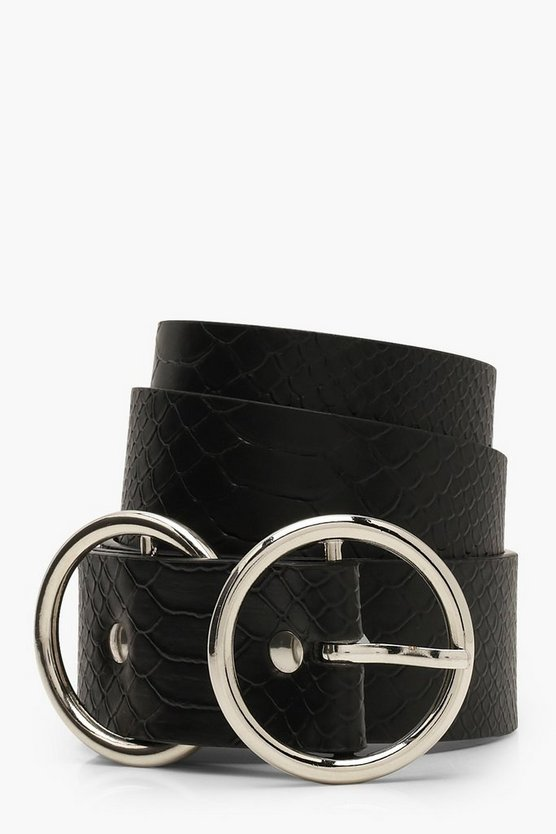 Croc Double Ring Belt