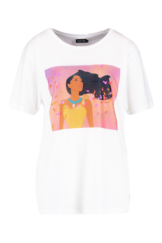 Princess Disney T white Pocahontas Shirt nYdqqCzw