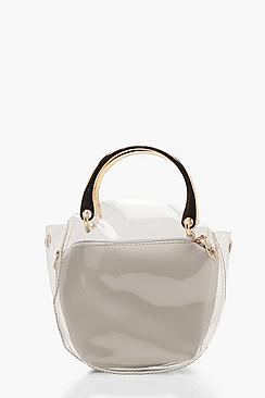 Clear Cross Body With Pocket Insert