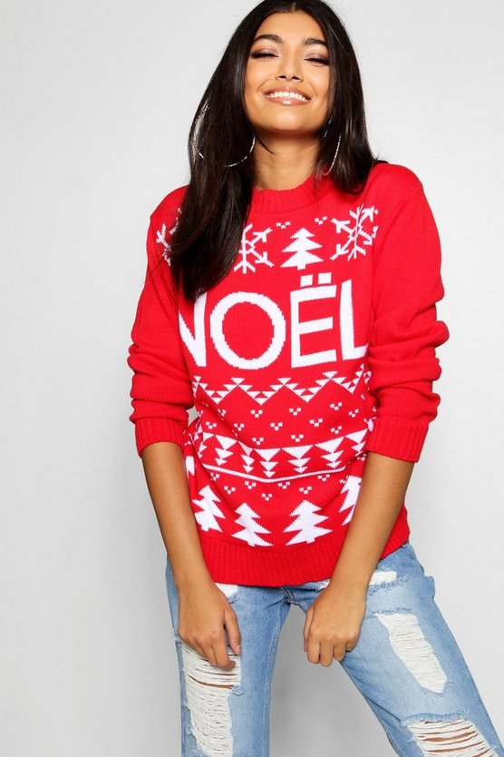 Noel Christmas Jumper