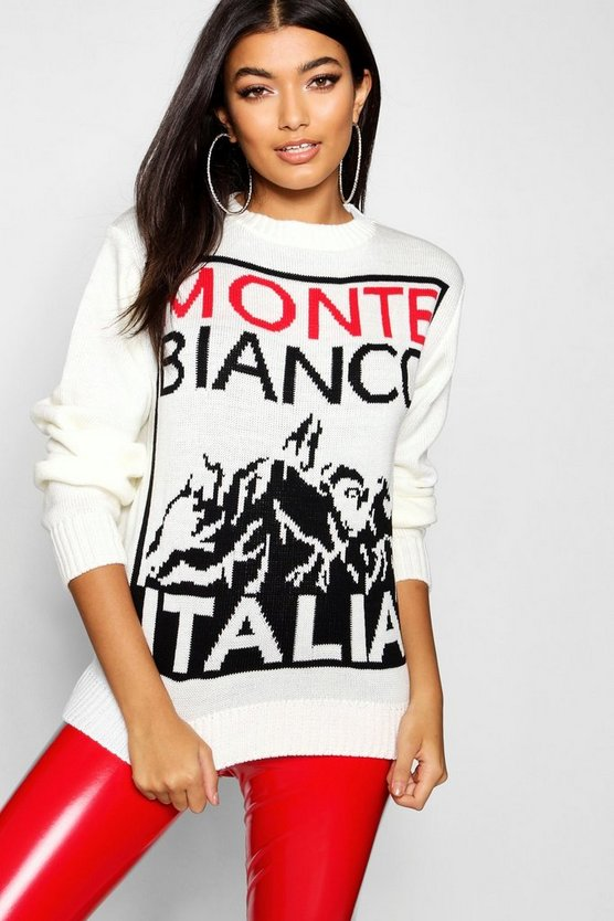 Monte Bianco Christmas Jumper