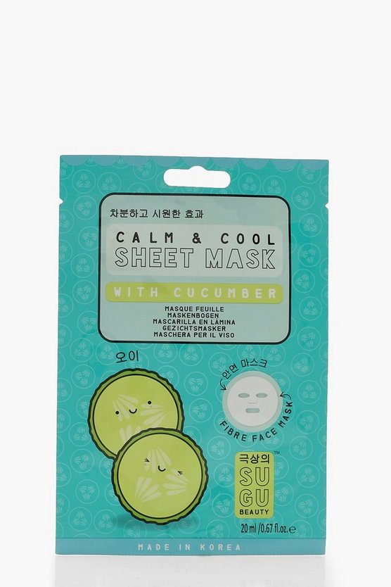 SUGU Cucumber Sheet Mask