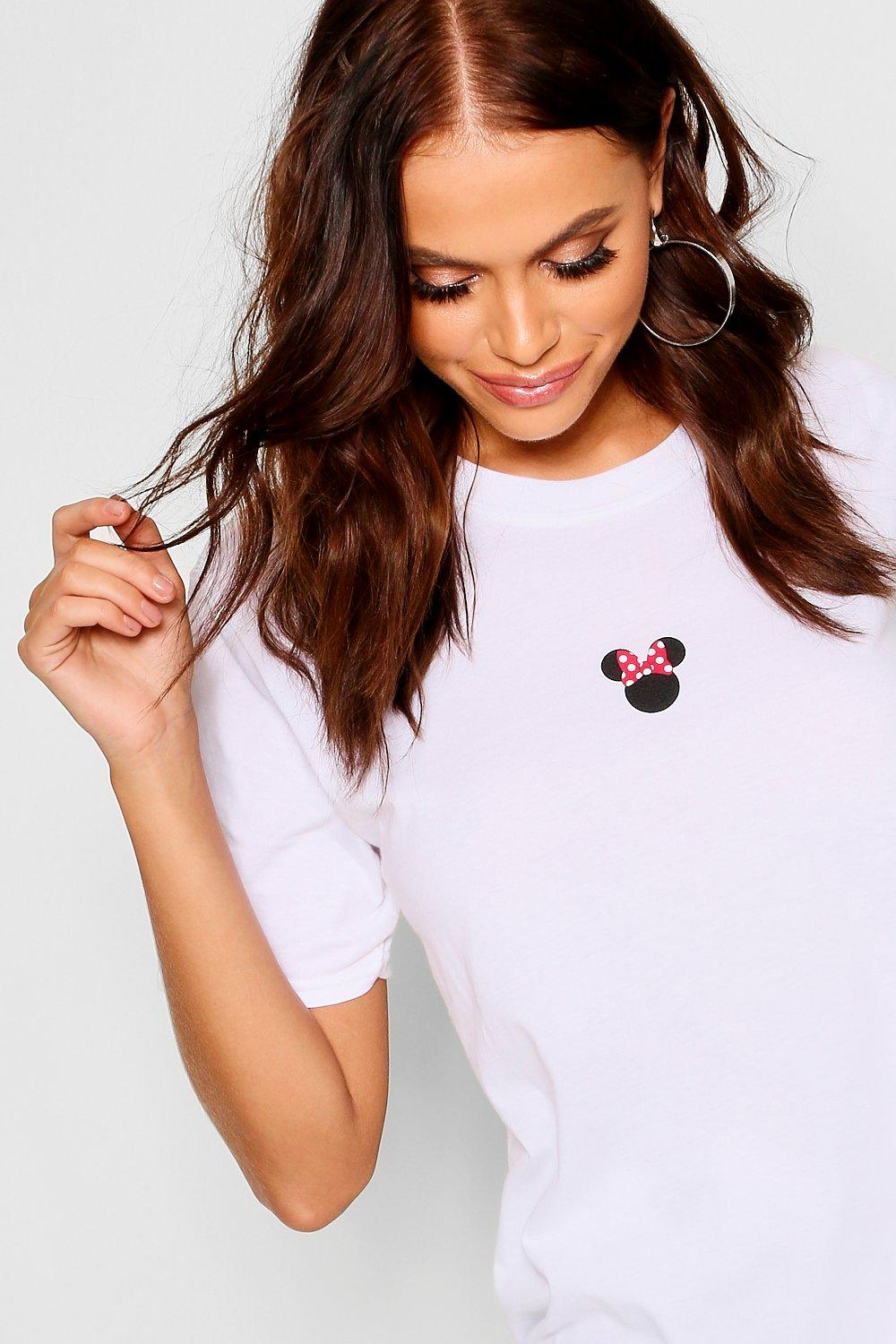 Disney Minnie T Shirt white Print rWraqSxPn