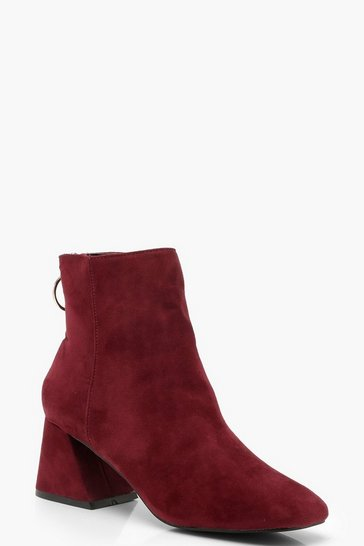 Womens Berry Low Block Shoe Boots
