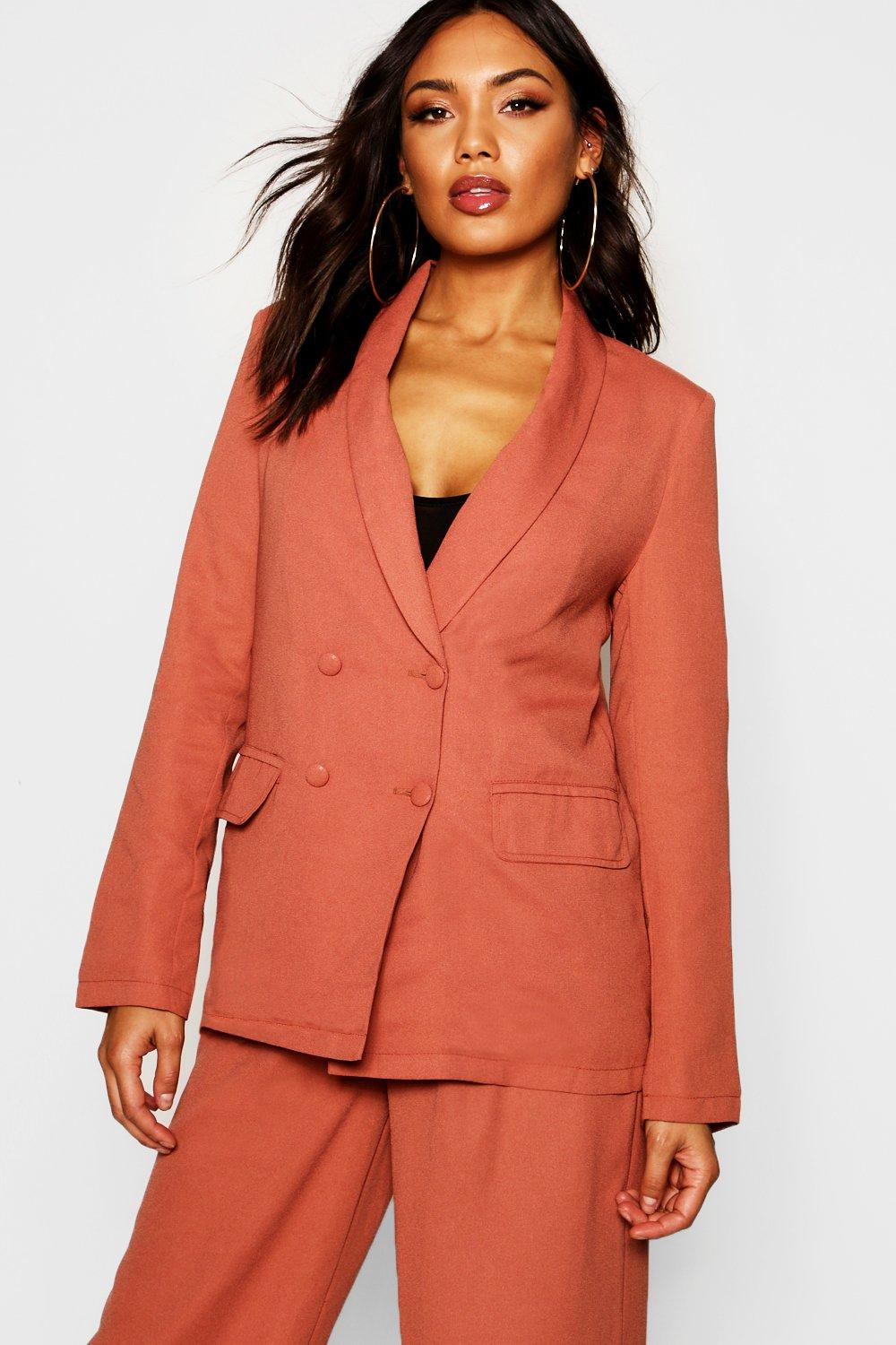Double Breasted Tailored Blazer | Boohoo