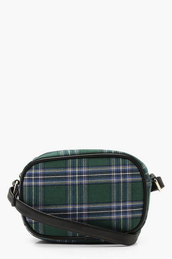 Tartan Check Cross Body