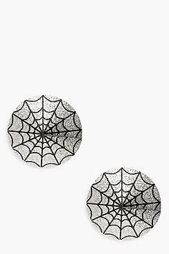 Halloween Cobweb Nipple Covers