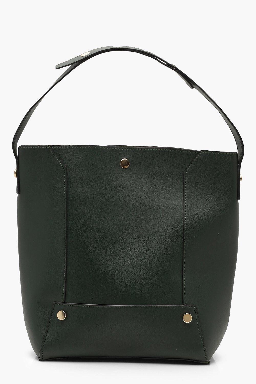 Panel Detail Shopper Daybag