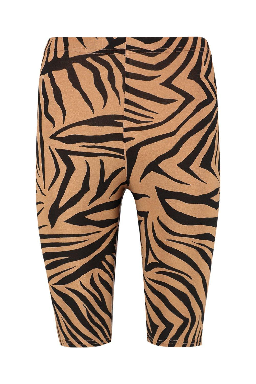 Print Shorts Zebra Cycling Shorts Zebra Cycling black black Print EH174qz