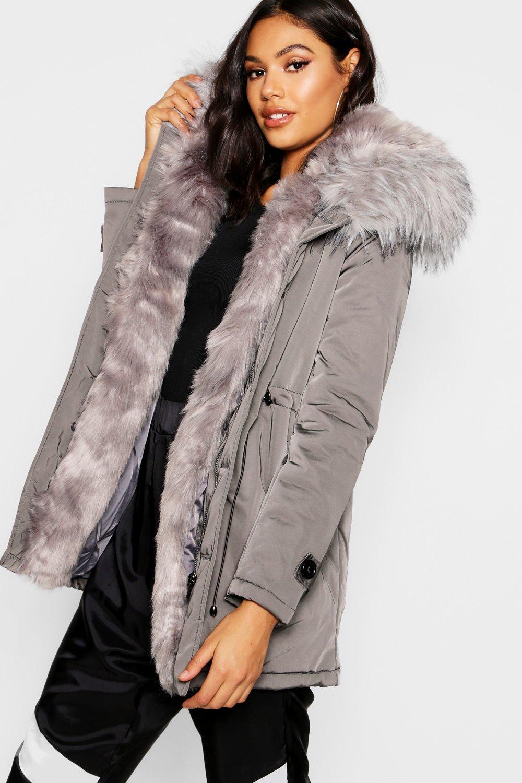 Cheap Fur Parka