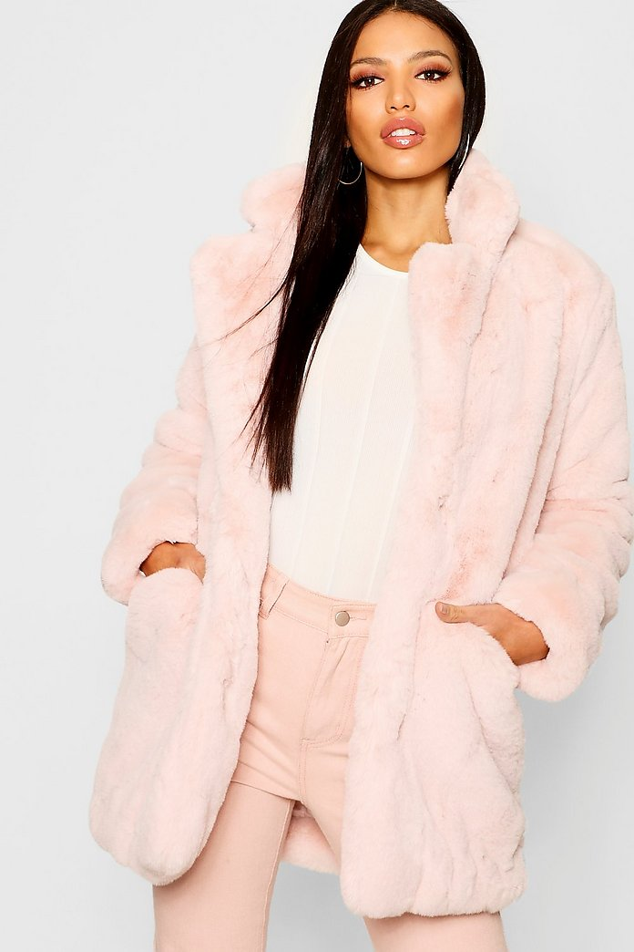 special sales good service buy online Boutique Faux Fur Coat | boohoo