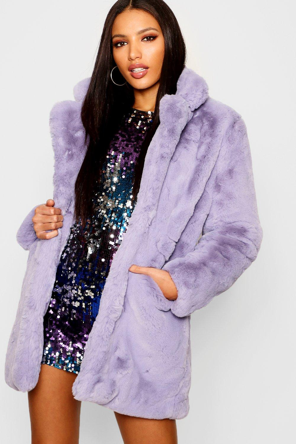 136a4ebed18 Boutique Faux Fur Coat. Hover to zoom