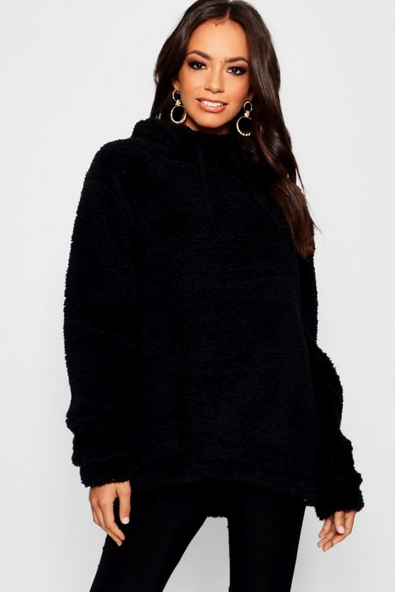 Teddy Faux Fur hoody