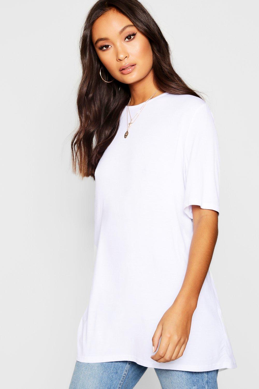 descubierta de Camiseta de espalda Camiseta blanco xIadwT