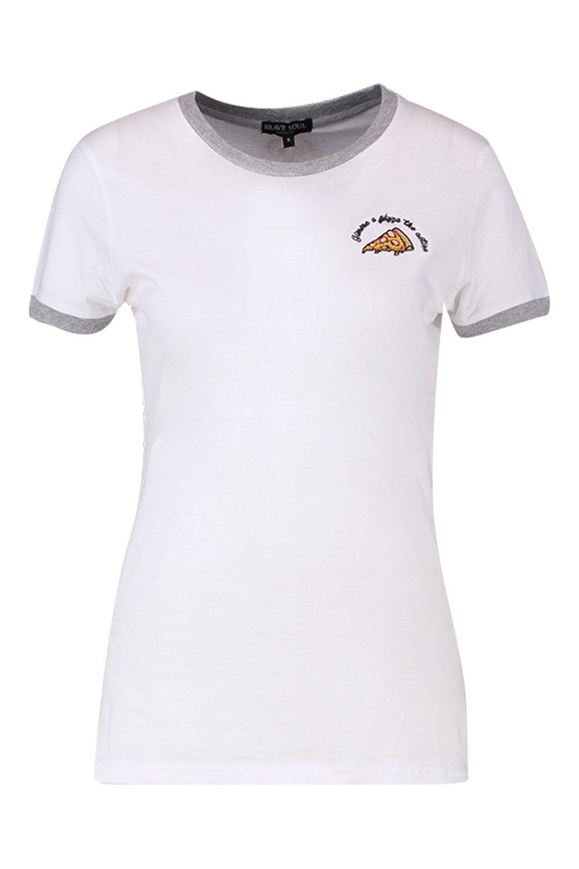 """Camiseta """"Pizza Camiseta """"Pizza 4FwFqf6X"""