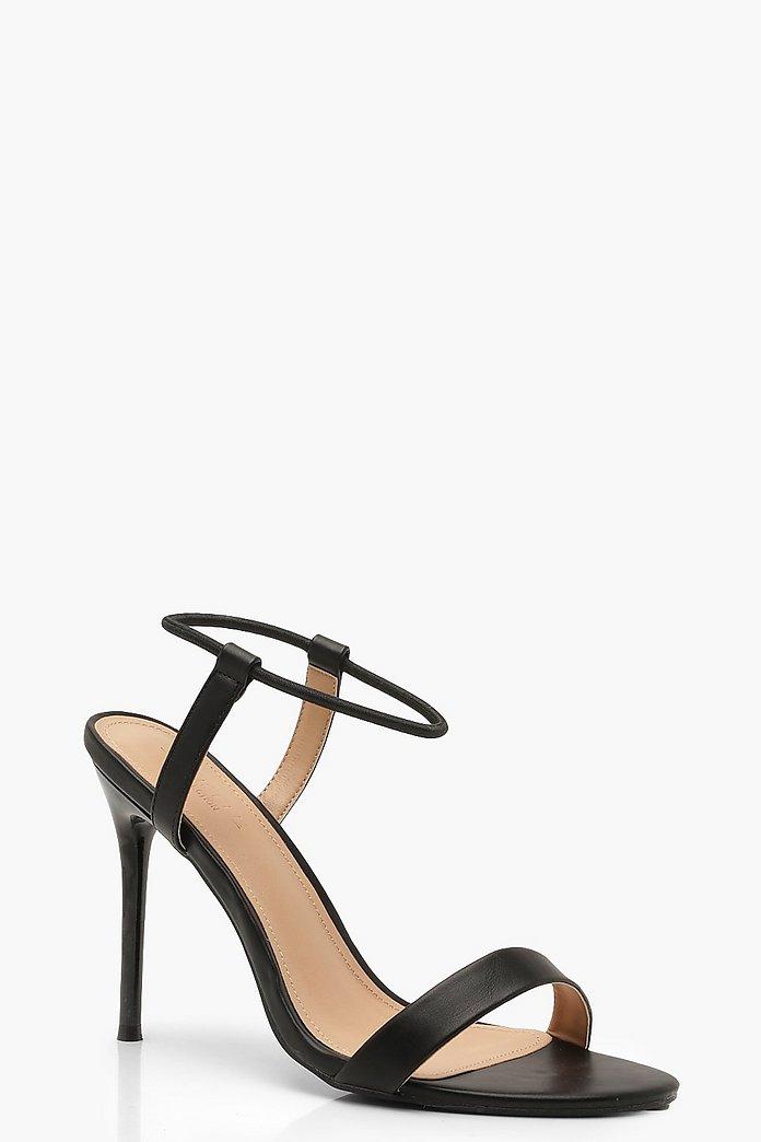 prezzo competitivo 433d8 1d7b3 Scarpe basse in due parti con tacco e cavigliera | Boohoo