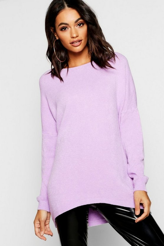 Soft Knit Oversized Boyfriend Jumper
