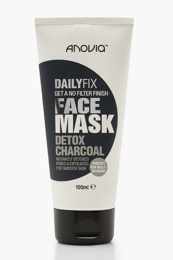 Womens White Daily Fix Detox Charcoal Face Mask