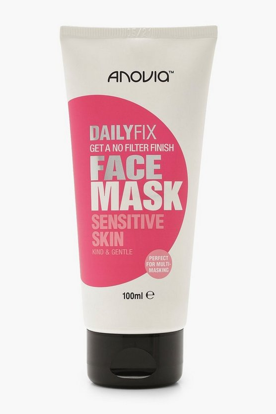 Womens White Daily Fix Sensitive Skin Face Mask